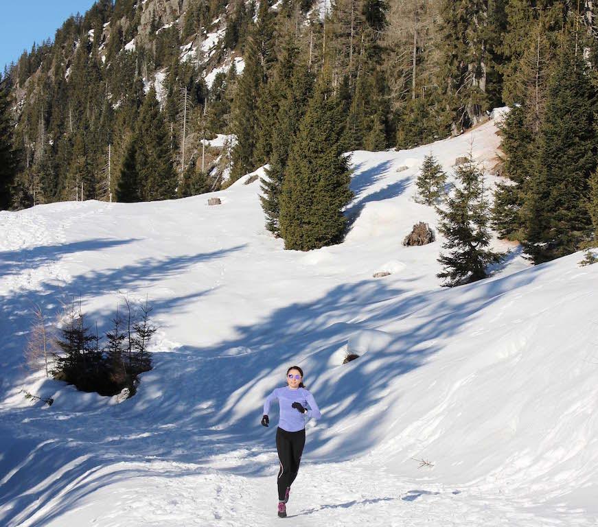 corsa sulla neve - www.runningpost.it