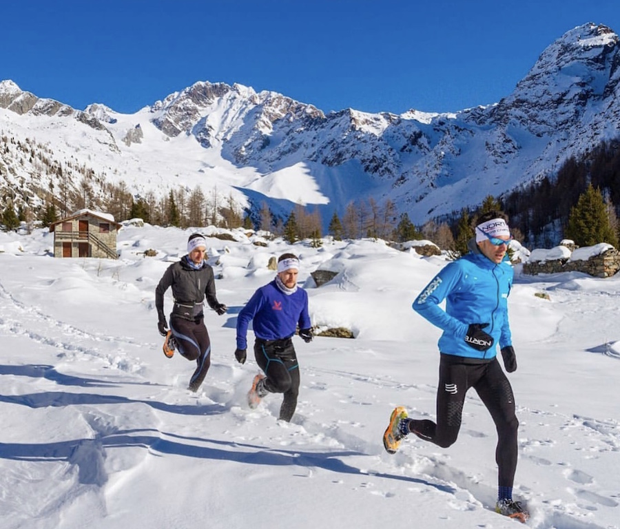 Marco de Gasperi in azione sulla neve - www.runningpost.it