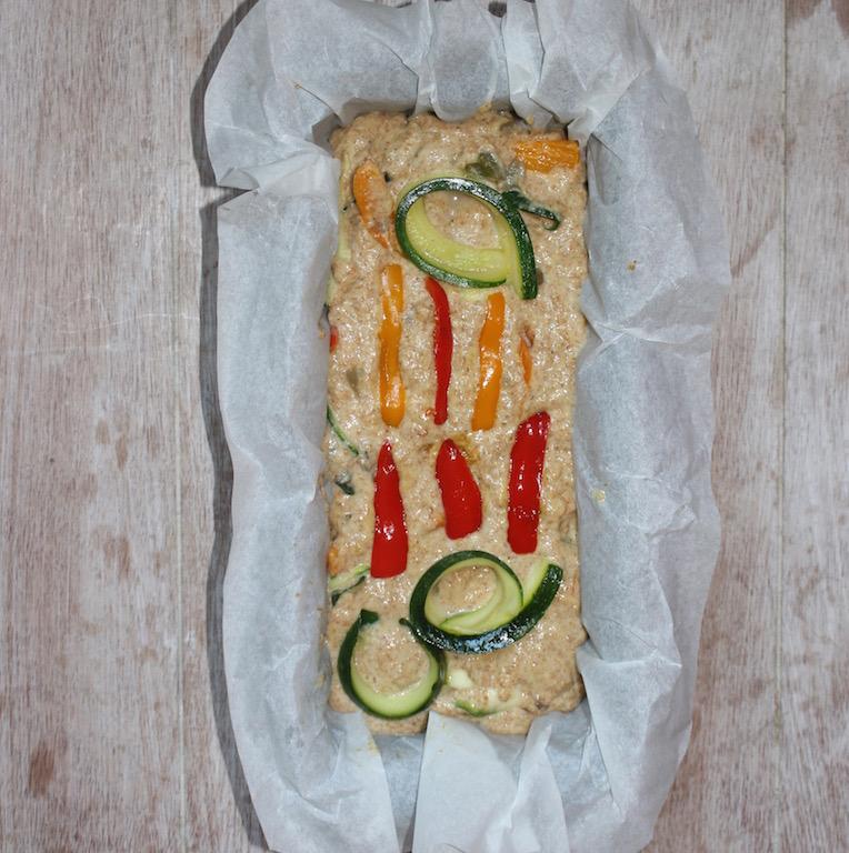 Plumcake salato alle verdure - www.runningpost.it