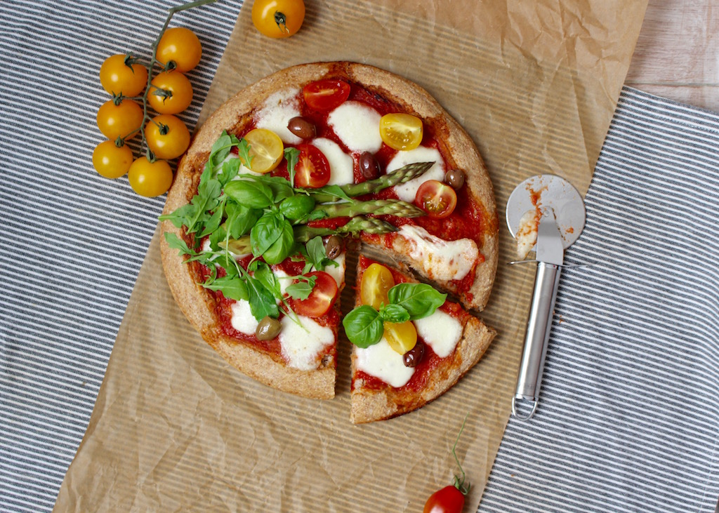 pizza integrale alle verdure - www.runningpost.it