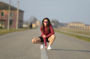 Irene Righetti in Asics by Running Post -