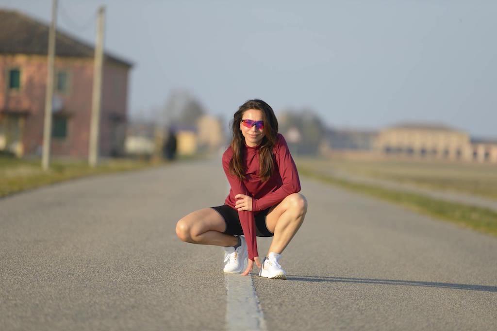 Irene Righetti in Asics by Running Post -