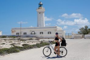 LAMPEDUSA IN BICI - Foto by Tommaso Gallini per www.runningpost.it