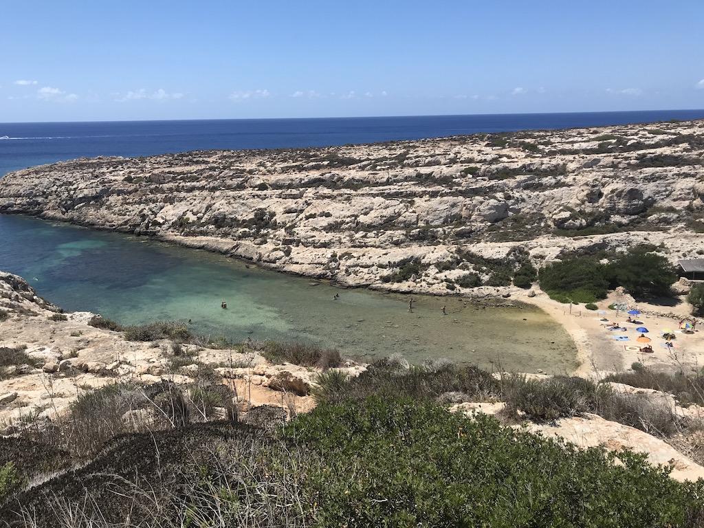 Cala Galera (Lampedusa) - www.runningpost.it