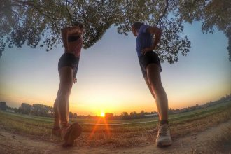 correre all'alba - foto di irene Righetti per Running Post