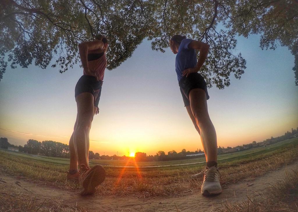 correre all'alba - foto di irene Righetti per Running Post