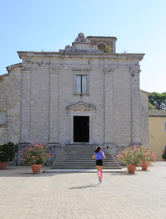 la Badia di san Pietro presente sul Monte Conero - Foto di Tommaso Gallini
