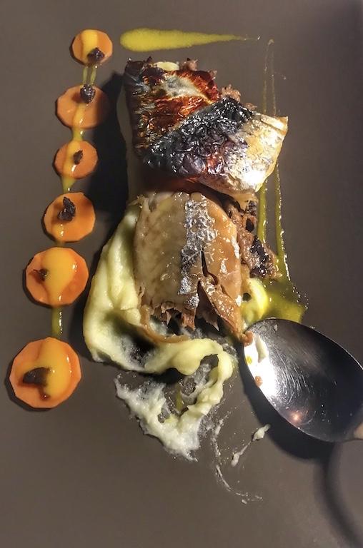 Murakami, il piatto del Clandestino Sushi Bar, ovvero sgombro arrostito marinato nel miso