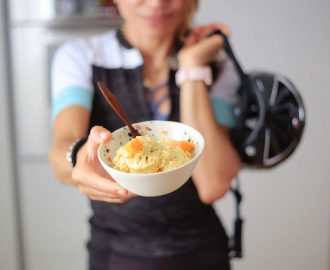 gelato al mango - by runningpost