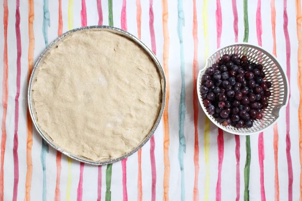 Focaccia all'uva fragola - www.runningpost.it
