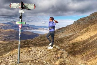 Irene Righetti sull'Appennino Bolognese - www.runningpost.it