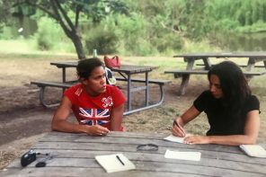 Cathy Freeman con Irene Righetti - www.runningpost.it