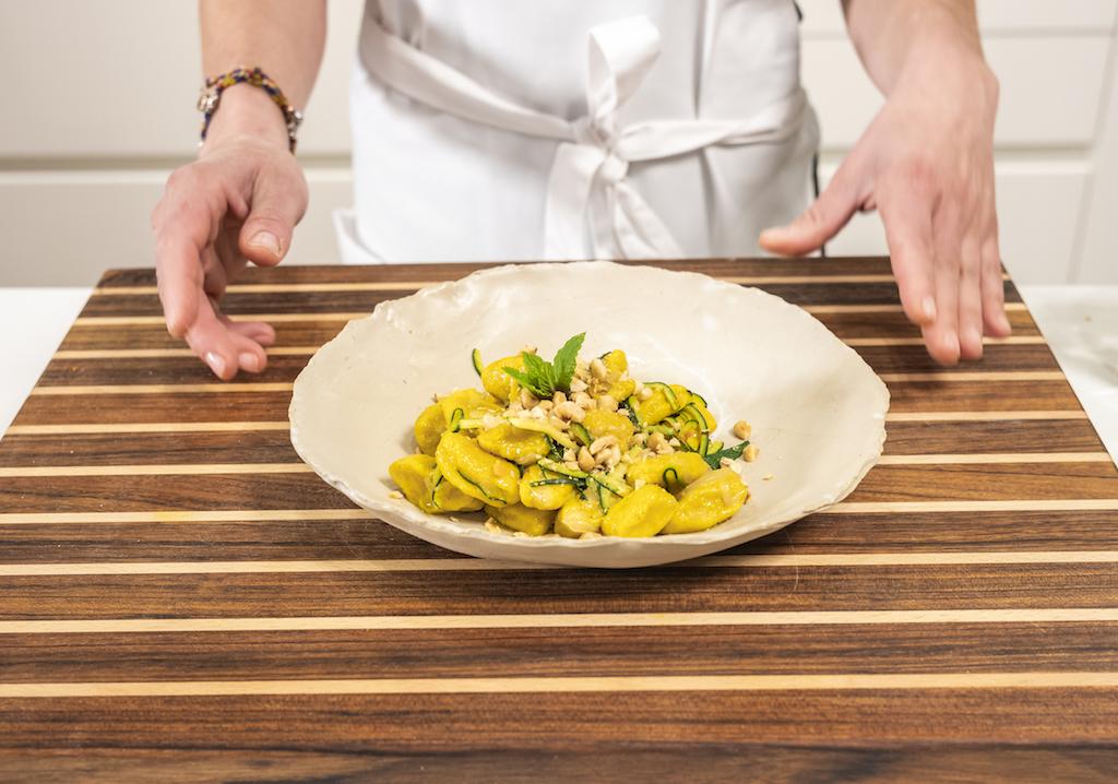 Gnocchi alla curcuma by Di Corsa in cucina - Fot P. Benini