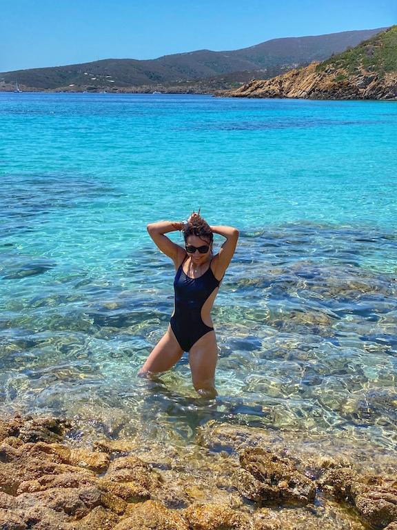 Irene Righetti a Cala Sabina, Asinara - Foto www.runningpost.it