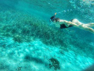 Sott'acqua all'isola dell'Asinara - Foto di irene Righetti per www.runningpost.it